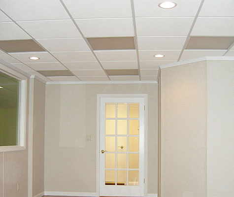 basement drop ceiling tiles basement ceiling finishing rh connecticutbasementsystems com best ceiling tiles for basement cheap ceiling tiles for basement