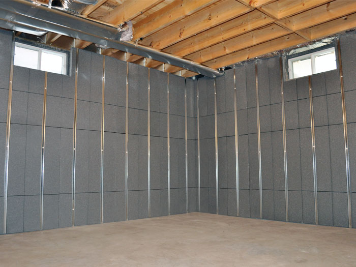 Basement to Beautiful™ Insulated Wall Panels in Connecticut