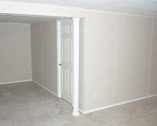 our everlast wall panel system gives every basement a polished look