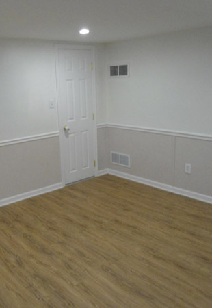 Basement Walls in a home in West Hartford, Connecticut