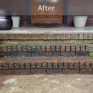 Sinking stairs repaired with PolyLevel® Yonkers