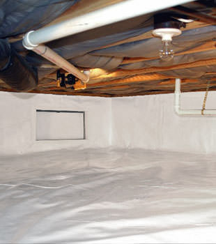 crawl space repair system in New Haven