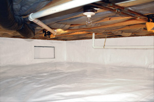Crawl Space Repair After in Stamford