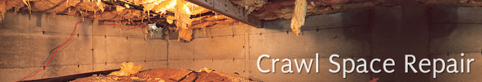 Crawl Space Repair in CT and NY, including Poughkeepsie, Norwalk & Yonkers.