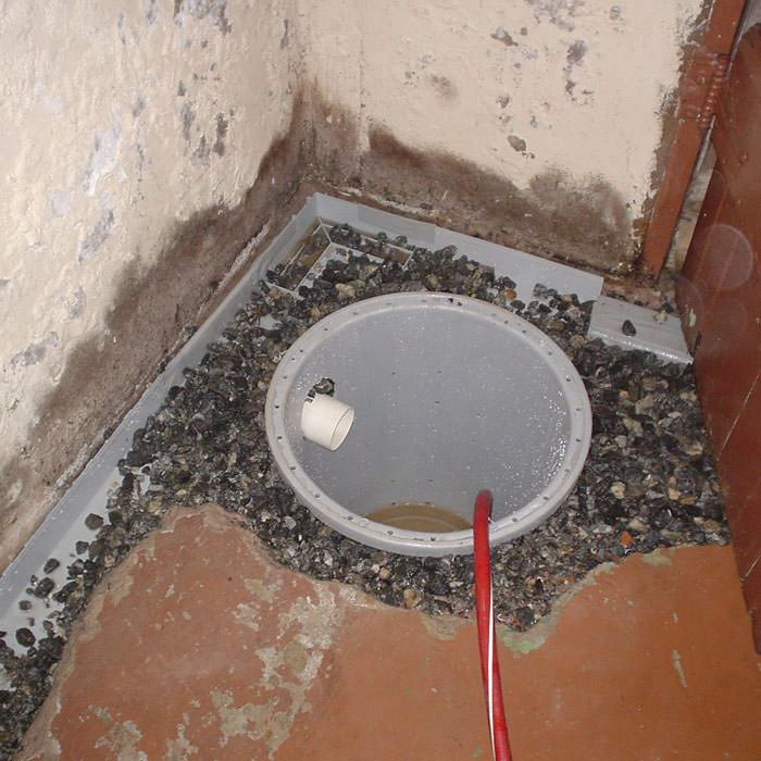 Installing A Sump In Pump Liner West Hartford Home