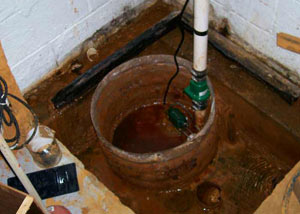 Extreme clogging and rust in a Glastonbury sump pump system