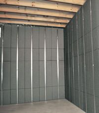 Thermal insulation panels for basement finishing in West Hartford, Connecticut